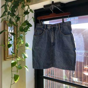 Vintage Jordache Denim Skirt